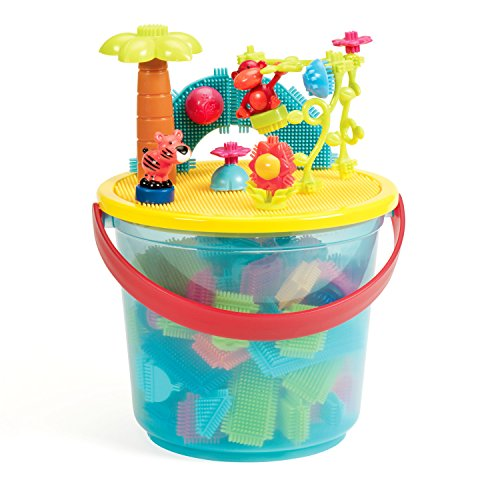 The Official Bristle Blocks - 128 Pieces in a Bucket Now $14.81 (Was $28.75)