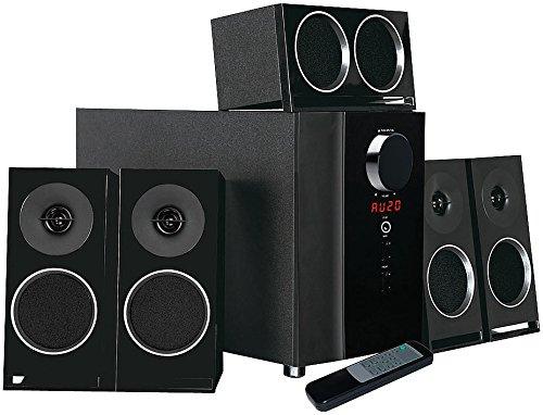 auvisio Surround System: PCM 5.1-Surround-Soundsystem, optischer Audio-Eingang, 200 Watt (5.1 Surround System)