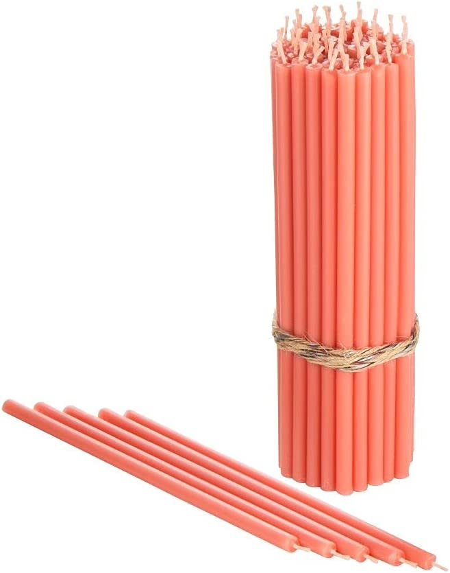 Danilovo Pure Beeswax Candles - Smoke-Less Sales for sale Tall Ranking TOP8 Thin No-Drip