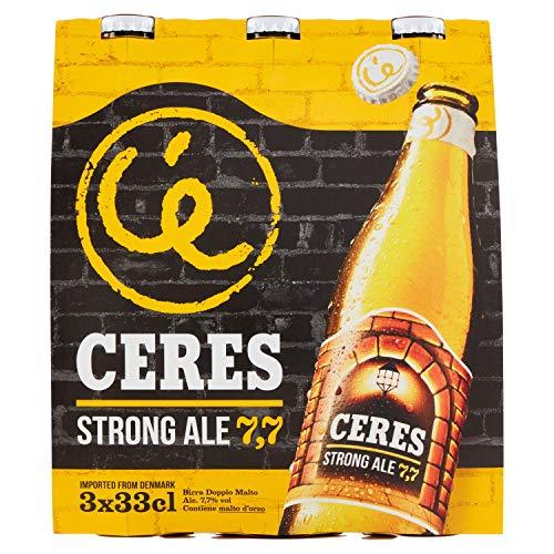 Ceres Birra Doppio Malto Chiara - Pacco da 3 x 330 ml