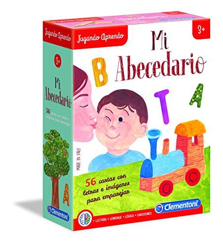 Clementoni-Mi abecedario Juego, Multicolor (55315)