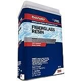 Bondo Home Fiberglass Resin, Designed for Interior and Exterior Home Use, 100% Waterproof,...