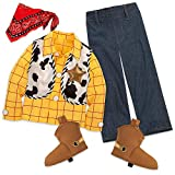 Toy Story Woody Costume with Shirt, Vest, Bandana, and Boot Covers