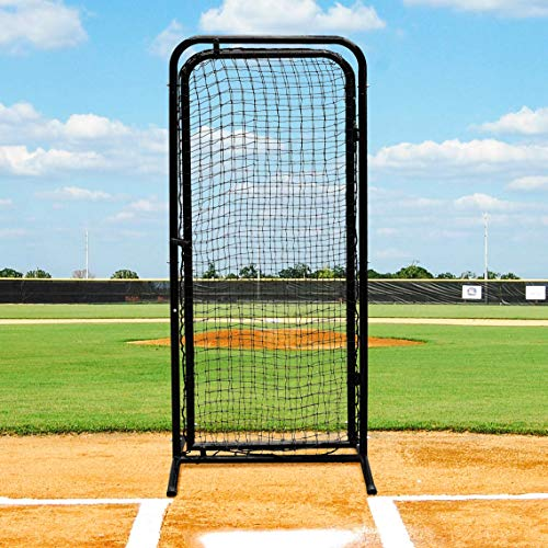 Fortress Batting Cage Door – Freestanding Baseball Cage Accessory