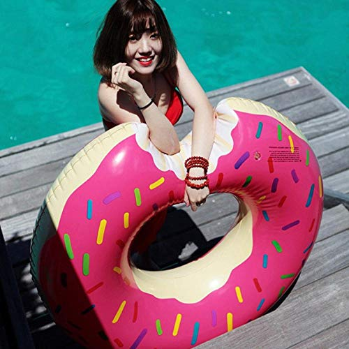 KEJIS - Anillo de natación hinchable hinchable de unicornio, piscina, flotador de piñas, flotador de tucán, pavo y juguete de agua donut80