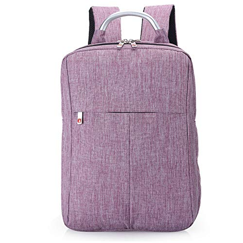 Msbir Notebook Computer Bag Men'S Shoulder Bag Business Backpack Hand-Held Men'S Bag Gift 15 Inch Purple zaino porta pc impermeabile antifurto north face zaino donna zaino uomo impermeabile lavoro