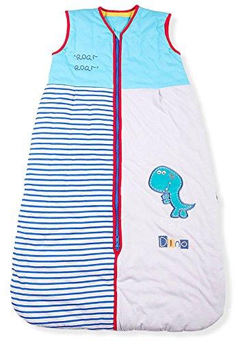 Mr. Sandman Rugir Dinosaure Bébé / enfant Sac de couchage, Poids standard, 2.5 Tog, Taille 3: 12-36 Mois