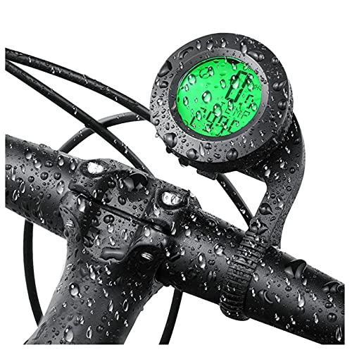 Rehomy Bicicleta Ordenador De Despertar Automático De La Bicicleta Del Velocímetro De La Bicicleta De La Ordenador De C