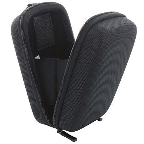 XiRRiX Kameratasche Hardcase Kompaktkamera M 2.0 Kamera Tasche kompatibel mit Panasonic Lumix TZ71 TZ81 / Canon PowerShot SX720 / Sony DSC HX60 - schwarz