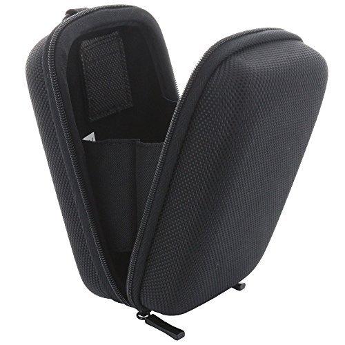 Kameratasche Hardcase Kompaktkamera M 2.0 Kamera Tasche passend für Canon PowerShot SX720 - Panasonic Lumix TZ71 TZ81 - Sony DSC HX60 - schwarz