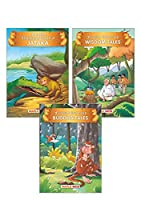 Jataka Tales (Set of 3 Books with 51 Moral Stories) - Colourful Pictures - Story Books for kids