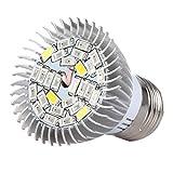 Uonlytech Lampada a LED per la Crescita delle Piante Full Spot Spotlight E14 Grow Lights...