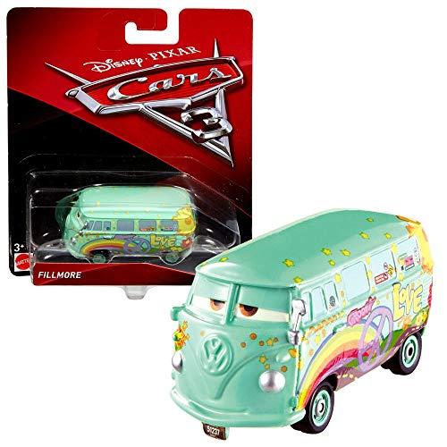 Modelle Auswahl Auto | Disney Cars 3 | Cast 1:55 Fahrzeuge | Mattel, Typ:Fillmore