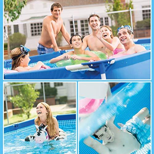 DGDG Riesenpool auf dem Boden, Hartschalen-Planschbecken, rechteckigen Pool for Kinder und Erwachsene Unterhaltung