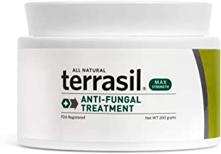 Terrasil® Anti-fungal Treatment MAX - 6X Faster, Doctor Recommended, 100% Guaranteed, All-Natural, Soothing, OTC-Registered ointment for fungal infections (200g Max Jar)