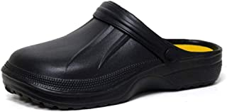 Mens Ladies EVA Garden Hospital Chef Nurse Beach Slip On Clogs Mule Slippers Rubber Pool Sandals Size 4-11