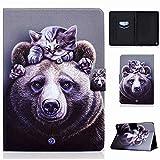 Coque pour Samsung Galaxy Tab A 10.1 2016 Case SM T580/T585, PU Cuir Flip Housse Tablette Étui...