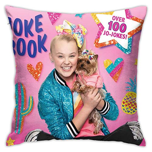 Jo-Jo Si-Wa Cushion Cover Funny Throw Pillow Case Washable Decorative Cushion Covers For Couch Sofa,45cm X 45cm (18in X 18in)