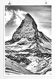 Eau Zone Home Bild - Landschaft Natur – Matterhorn in den