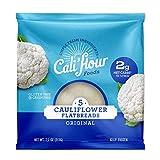 Cali'flour Foods Flatbreads (5' Original, 24 Count) - Keto Friendly, Low Carb, Gluten Free | Cauliflower Bread & Tortillas