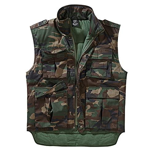 Brandit Ranger Weste Chaqueta, Woodland, 4XL para Hombre