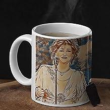 Warda Al-Jazairia Mug 350ml for Coffee and Tea