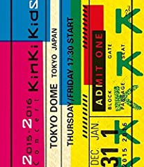 2015-2016 Concert KinKi Kids(通常仕様) [Blu-ray]