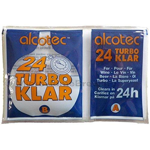 Homebrew & Winemaking - Alcotec 24 Hour Turbo Clear - Finings