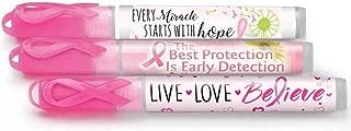Breast Cancer Awareness Antibacterial Hand Sanitizer Pocket Sprayer Assortment Pack- Includes 12 Hand Sanitizers