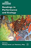 Readings in Performance and Ecology (What is Theatre?) - W. Arons