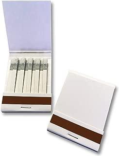 白無地シリーズ ブックマッチ(10本×1列)100個入り