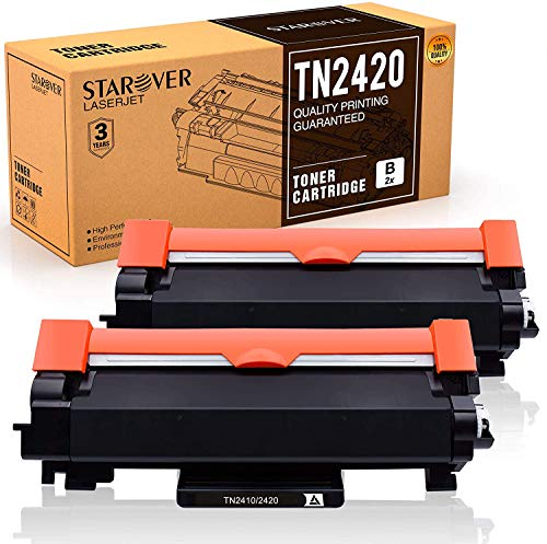 [Met Chip] STAROVER TN-2420 TN2420 TN2410 Toner Cartridge Compatibile voor Brother MFC-L2710DN MFC-L2710DW MFC-L2730DW MFC-L2750DW DCP-L2550DN DCP-L2530DW DCP-L2510D HL-L2375DW HL-L2370DN HL-L2350DW