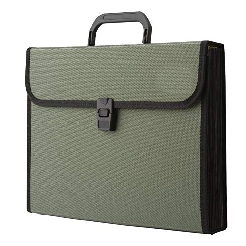 Rocutus - Carpeta archivadora expandible, tamaño A4, multicapa, tamaño carta, para la escuela y la oficina