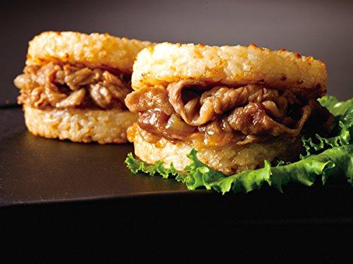 【松屋】 牛めしバーガー(30食入り)牛丼【冷凍】