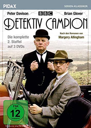 Detektiv Campion, Staffel 2 (Albert Camion) / Die komplette 2. Staffel der beliebten Krimiserie nach Romanen von Margery Allingham (Pidax Serien-Klassiker) [3 DVDs]