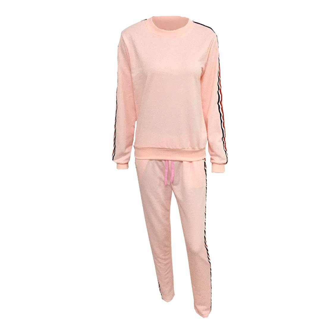機知に富んだ暗殺汚い女性の ジョギング プルオーバー レジャー スポーツ2個 セット スーツ スウェットシャツ