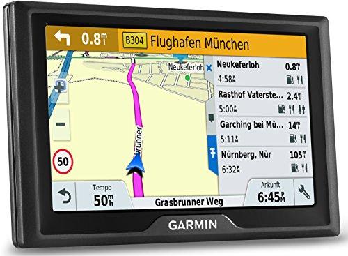 Garmin Drive 50 LMT EU Navigationsgerät - lebenslange Kartenupdates, Premium Verkehrsfunklizenz, 5 Zoll (12,7cm) Touchscreen