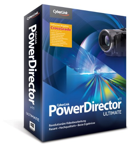 POWERDIRECTOR 11 ULTIMATE CROSSGRADE - Software