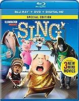 Sing (Blu-ray + DVD + Digital HD)【北米版】