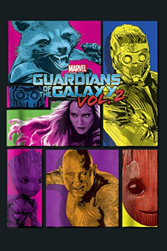 Marvel Guardians Of The Galaxy 2 Team Puzzle Graphic: Notebook Planner - 6x9 inch Daily Planner Journal, To Do List Notebook, Daily Organizer, 114 Pages