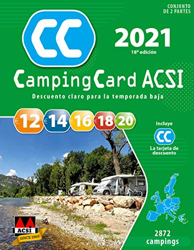 CampingCard ACSI 2021 - Española - Guia (dos partes) y tarjeta de descuento