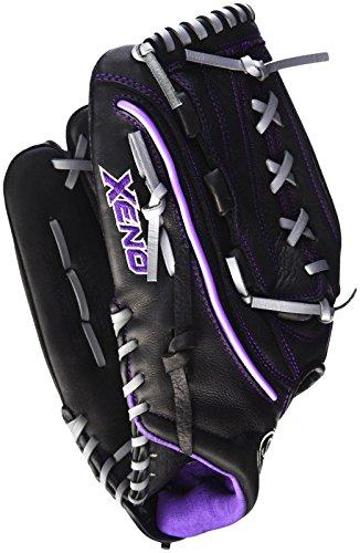 Louisville Slugger Xeno Outfielder's Glove, Left, Black, 13