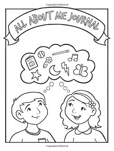All About Me Children's Coloring Journal