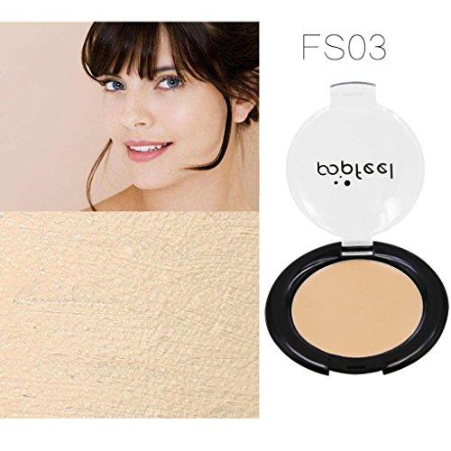 Concealer Hell, Huihong POPFEEL Make-Up Flüssige Stiftung Feuchtigkeitsspendend Wasserdicht Concealer Bb Creme, Nicht Fettig Den Glanz Erhöhen (03)
