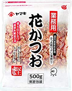 Japanese Bonito Flakes , Excellnt High Quality , 17.6 Ounce (500g ) in Resealable Zipper Bag