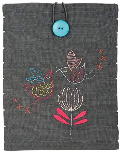 Vervaco PN-0156733 borduurverpakking I Pad Cover Gestileerde vogels