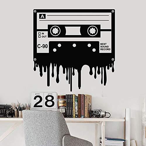 WERWN Cinta de Cassette música Etiqueta de la Pared Mejor R