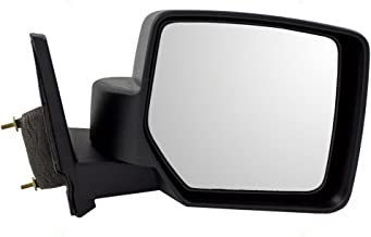 Passengers Manual Side View Mirror Textured Replacement for Jeep Patriot 5155456AK AutoAndArt
