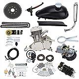 sthus 80cc Bike 2 Stroke Gas Engine Motor Kit Motorized Bicycle Silver DIY USA