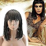 KXW Braided Bob Wig Short Braided Wigs with...